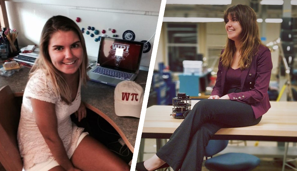 WPI student then now