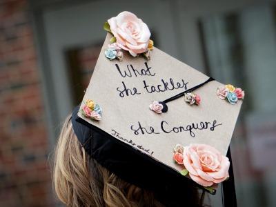 photo of a graduate's cap
