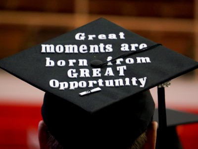 photo of a graduate's cap