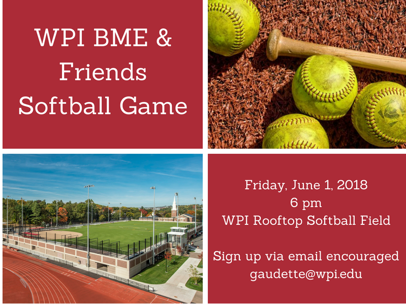 BME and Friends Softball Game