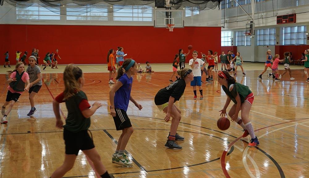 WPI girls basketball camp