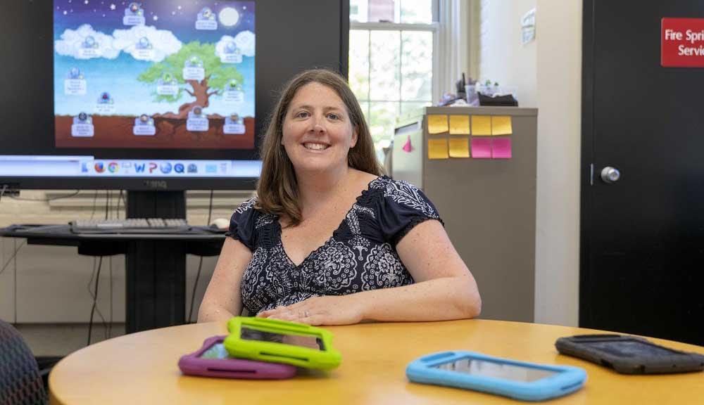 WPI professor Erin Ottmar