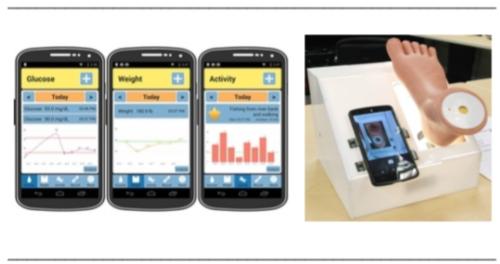 Diabetes based sugar tracking app