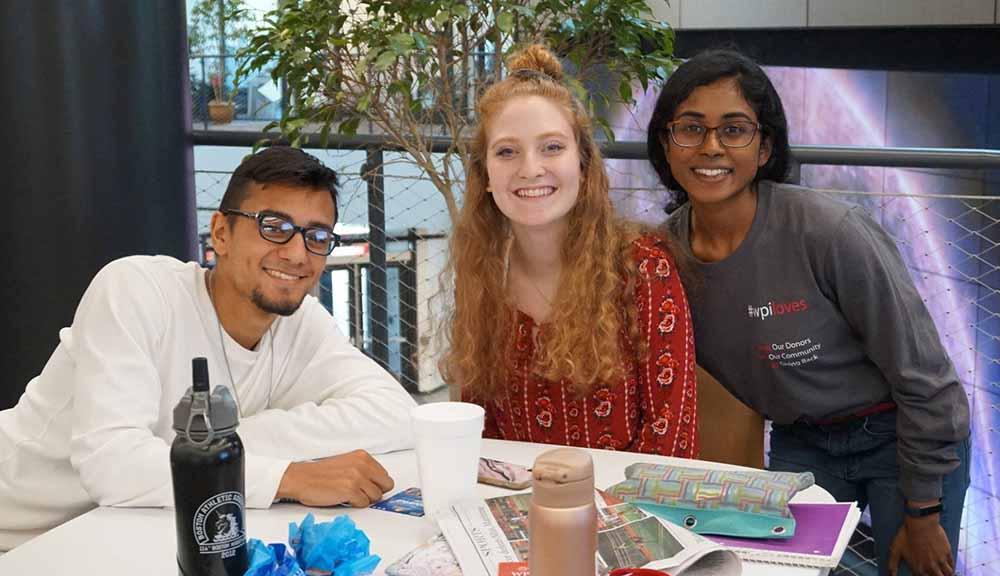 WPI undergraduate students