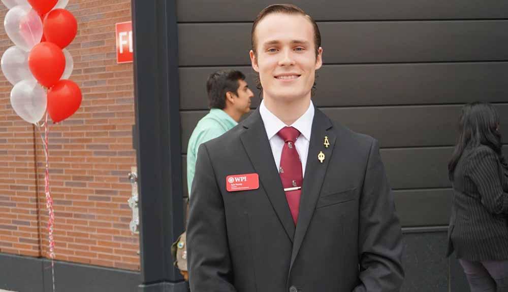 WPI graduate student
