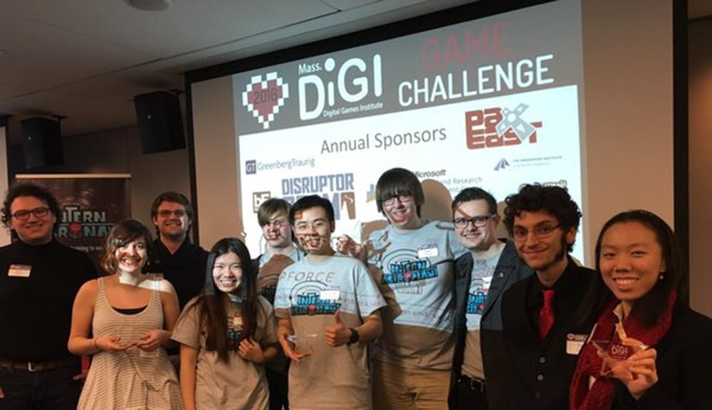 student group presentation flr DiGi challenge