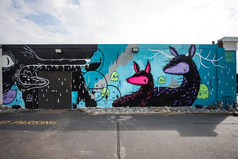 Worcester mural