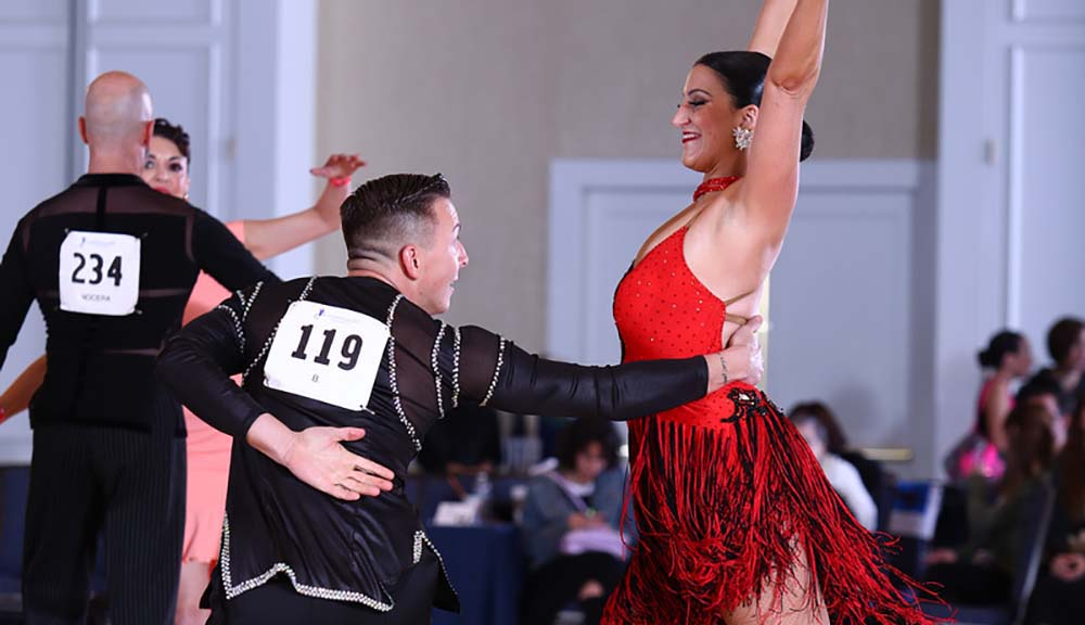 WPI professor ballroom dancer