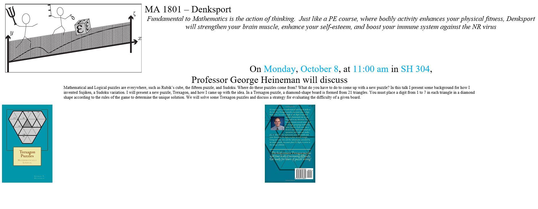 Denksport October 8