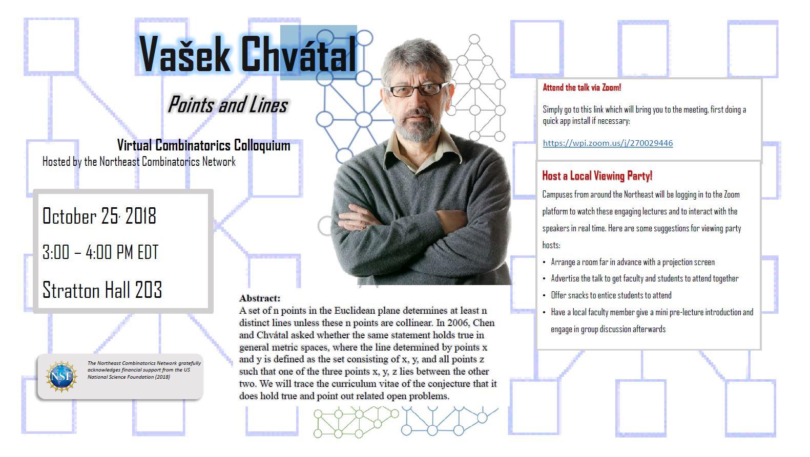 Virtual Combinatorics Colloquium