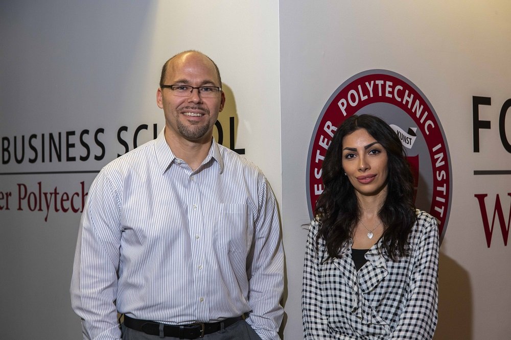 Foisie Business School Associate Professor Andrew Trapp and PhD student Narges Ahani are working on an NSF-funded grant to develop software to aid in refugee placement
