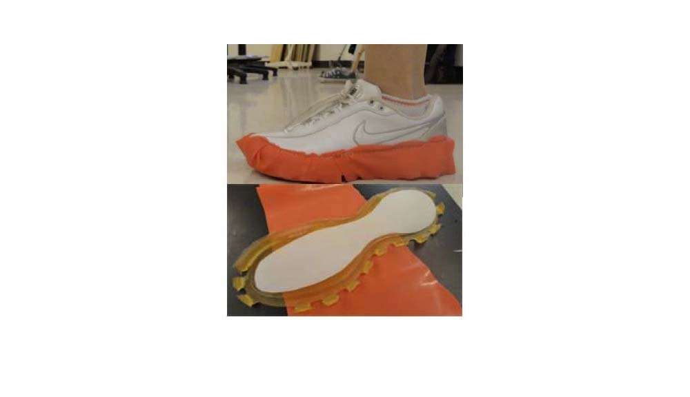Preventing injuring shoe