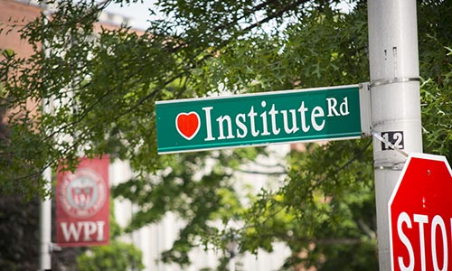 WPI Institute Road