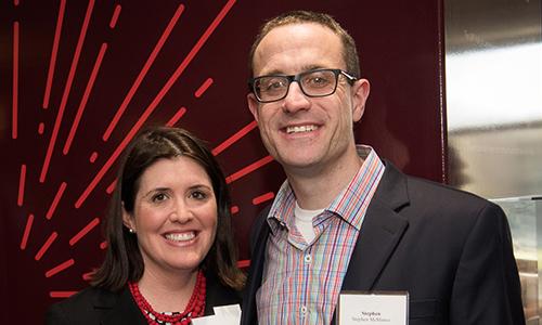 Deborah McManus and husband