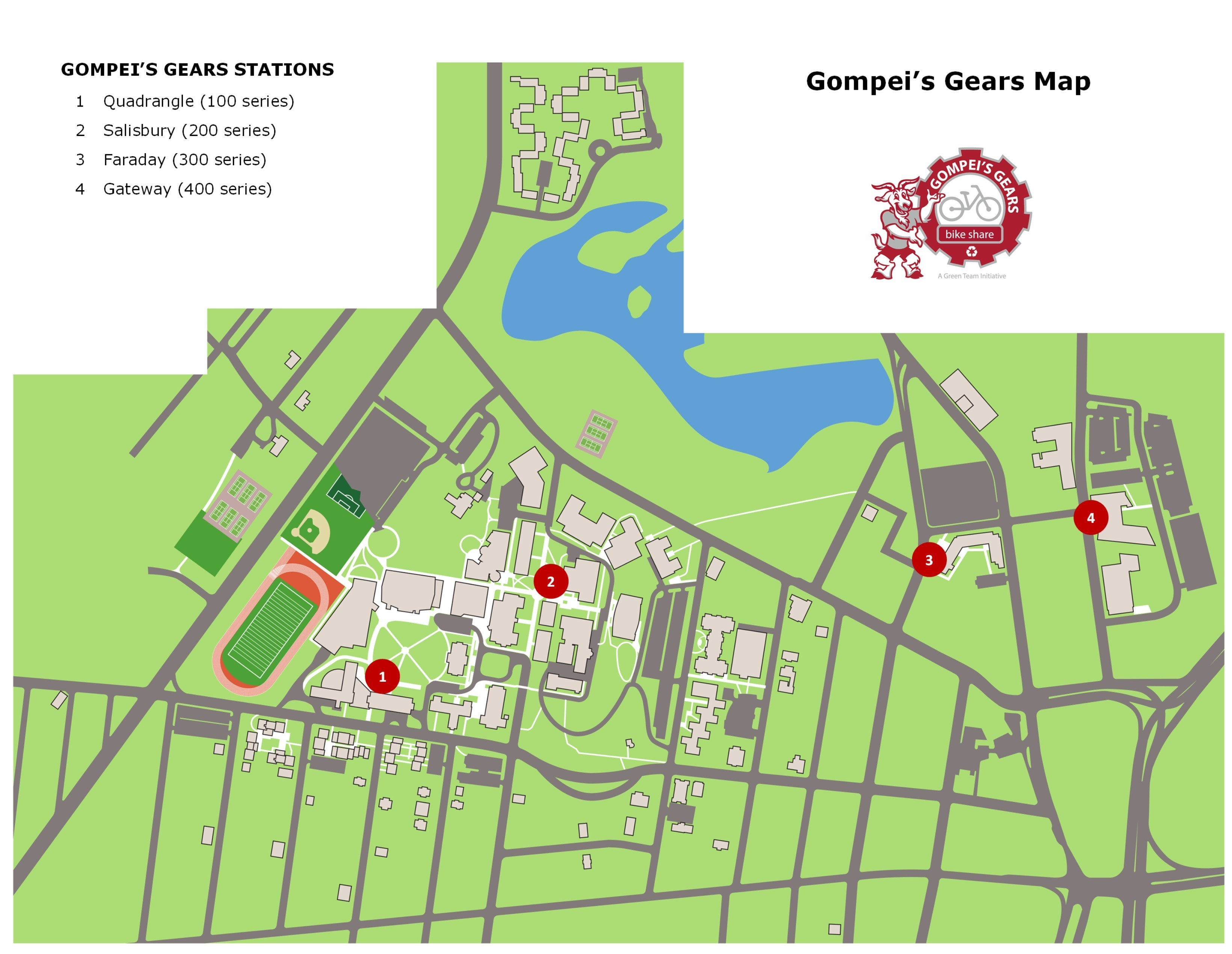 Gompei's Gears Map (as of 12/1/2018)