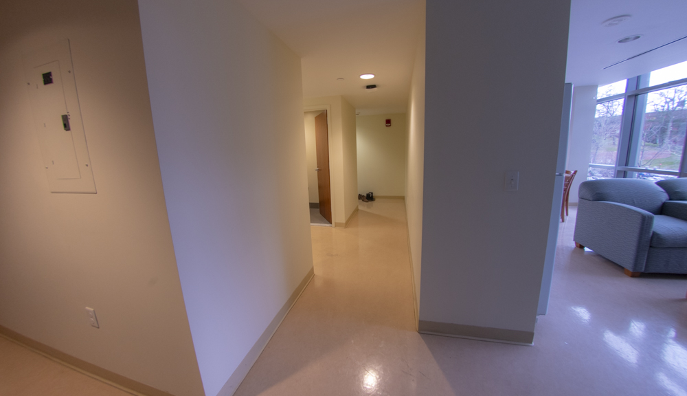East hall apartment style 2, general hall
