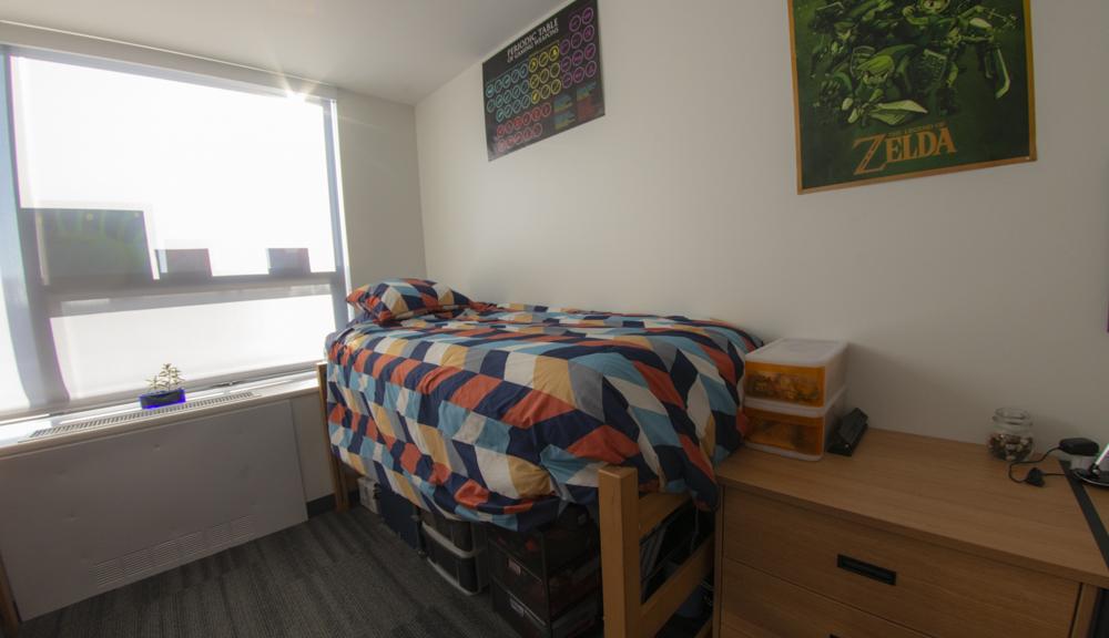 Bed setup.