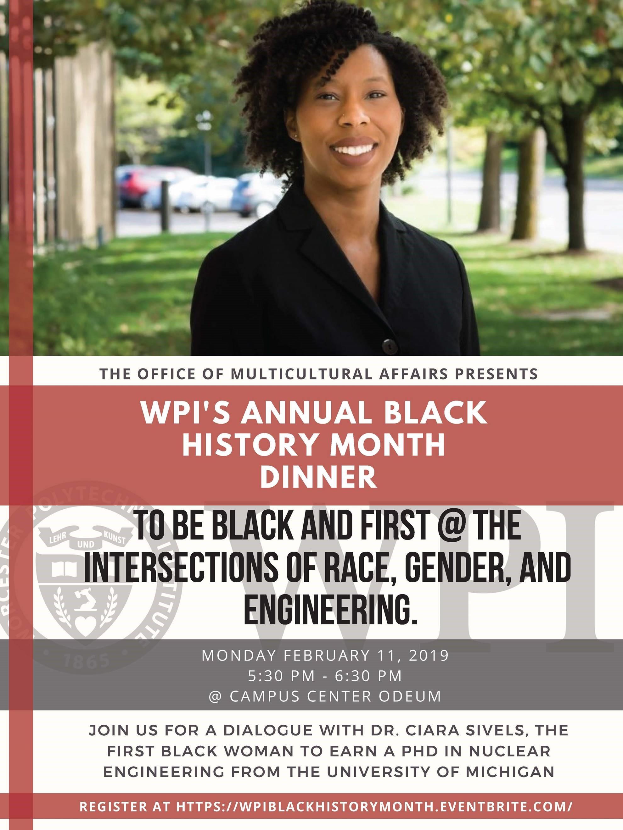 WPI Black History Dinner