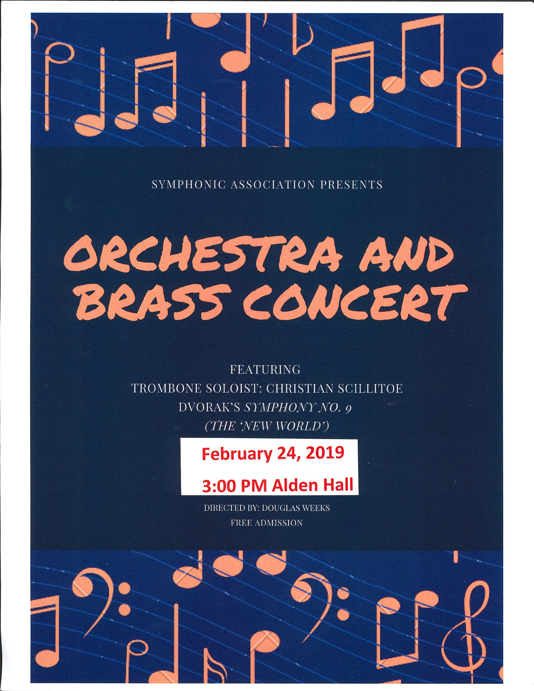 directed by Douglas Weeks WPI Orchestra & Brass