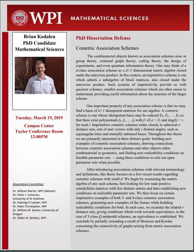 Brian Kodalen PhD Dissertation