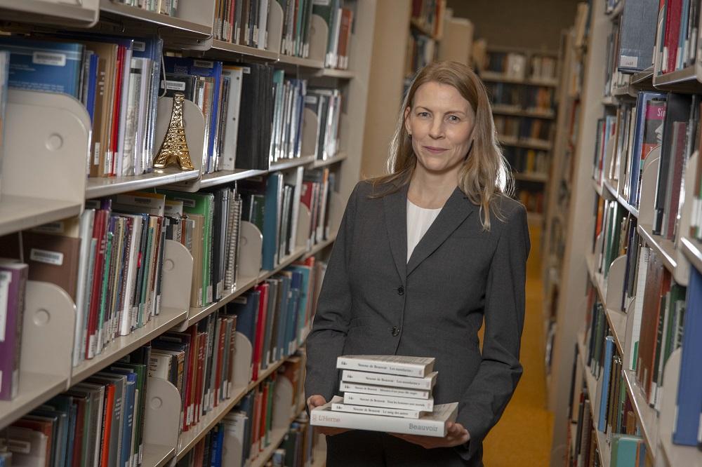 Jennifer McWeeny, associate professor of Humanities & Arts