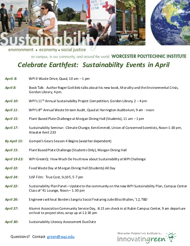 Earthfest Events