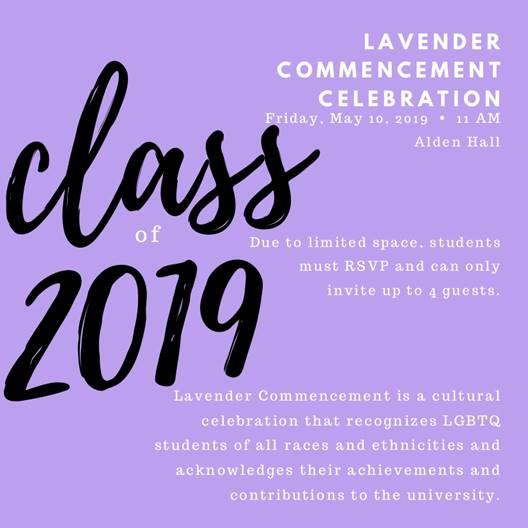 Lavender Commencement Celebration