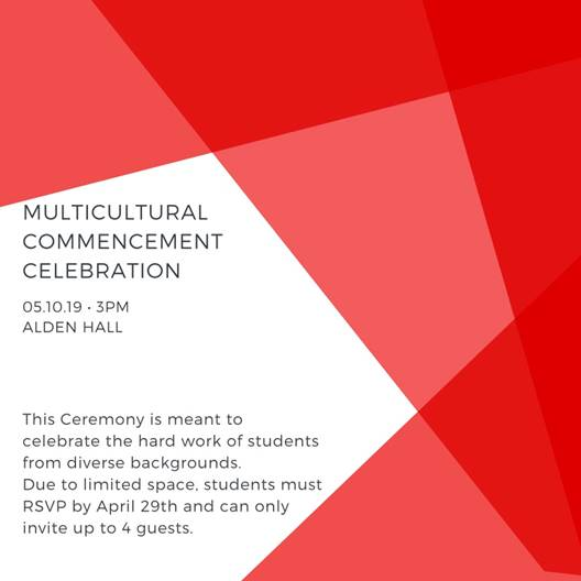 Multicultural Commencement Celebration