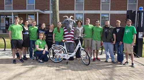 WPI bike sharing
