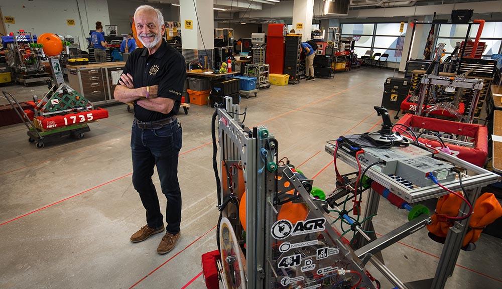 WPI robotics professor