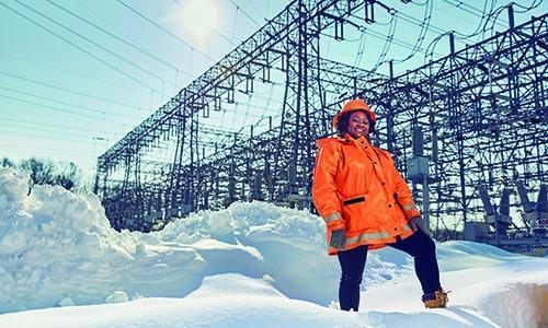 WPI aluma power grid snow