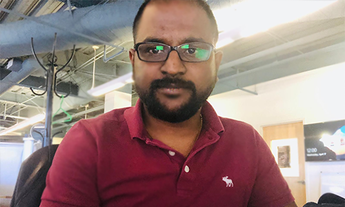 Satishraju Rajendran headshot