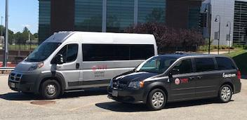 WPI SNAP Transportation shuttles.