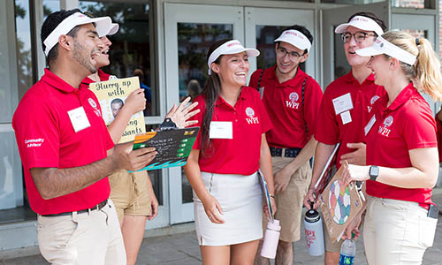WPI Move In Day New Students