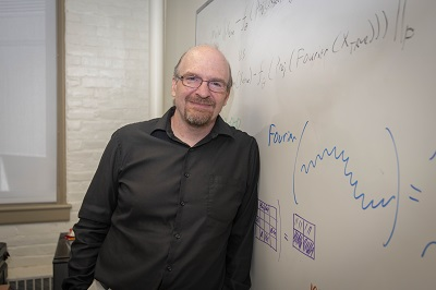 Paffenroth and researchers will use machine learning to help Nanocomp Technologies with manufacturing processes.   alt