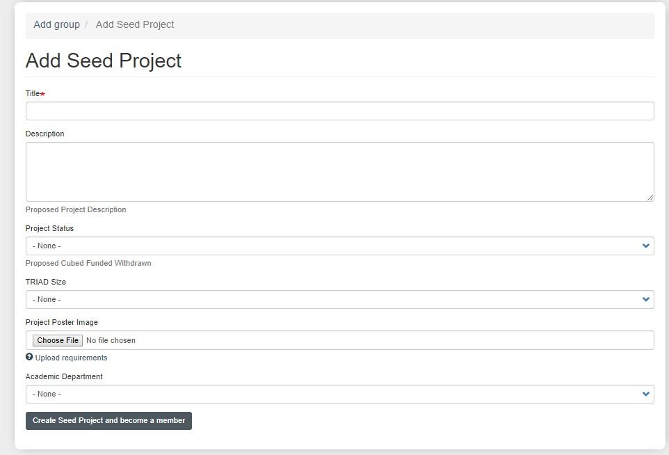 add project