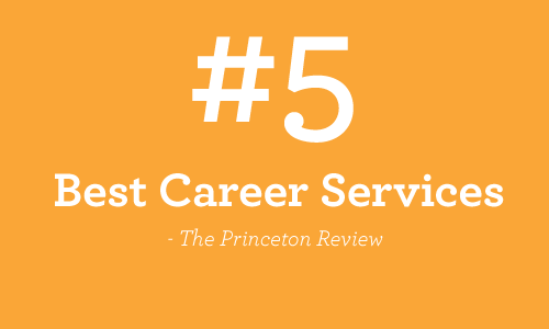 5th best career services