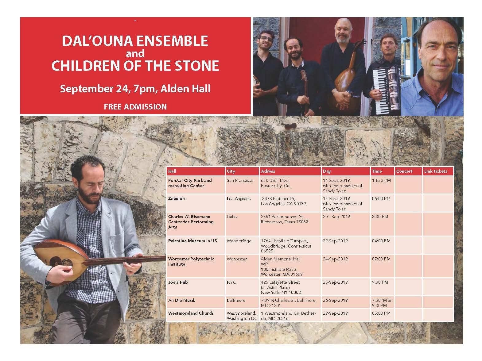 Concert in Alden Hall