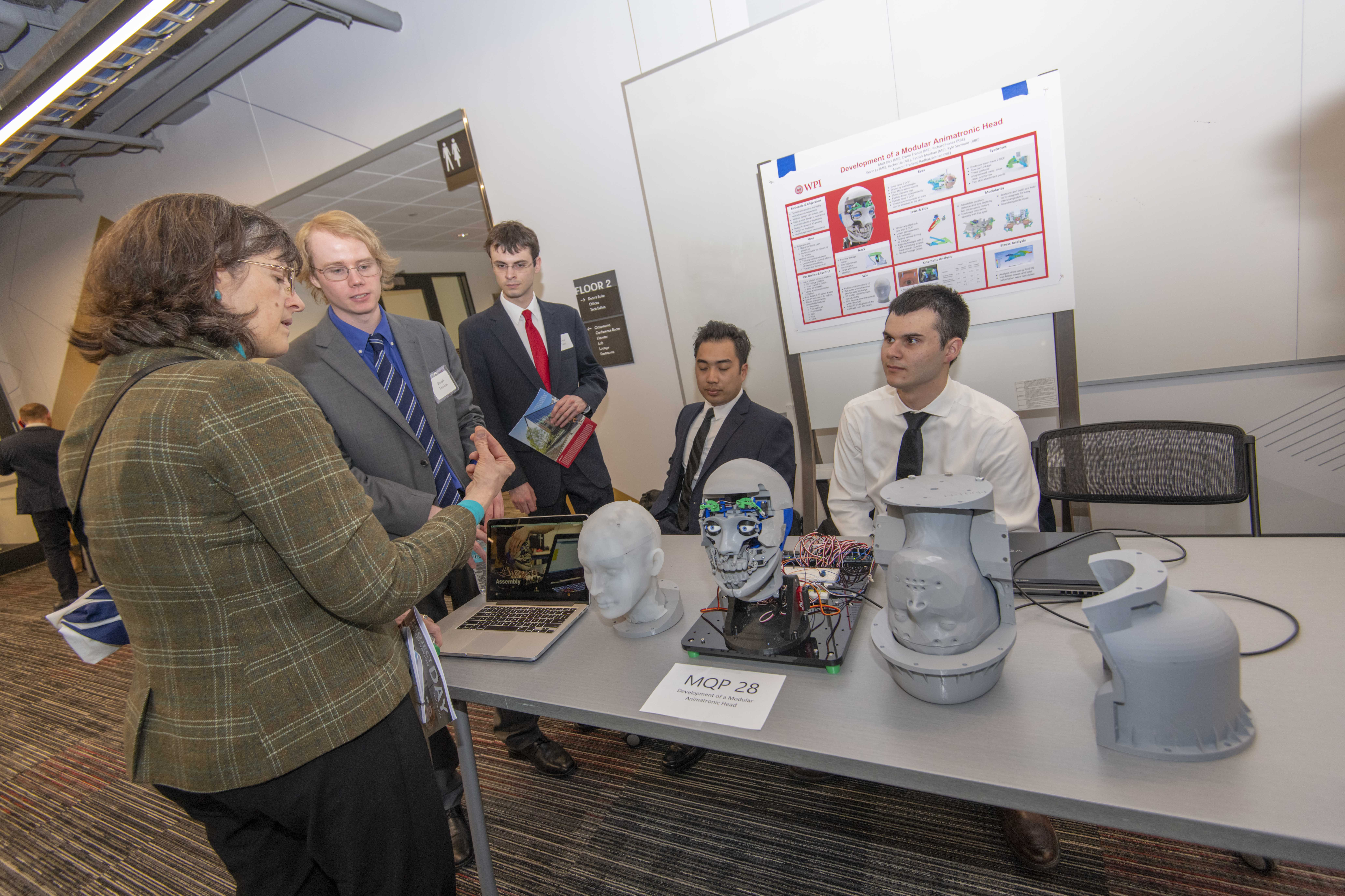 Projects Presented at Project Presentation Day