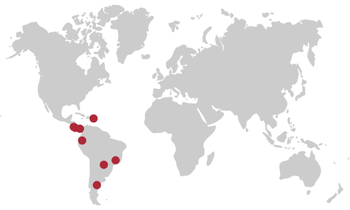 WPI Global Project Centers Map
