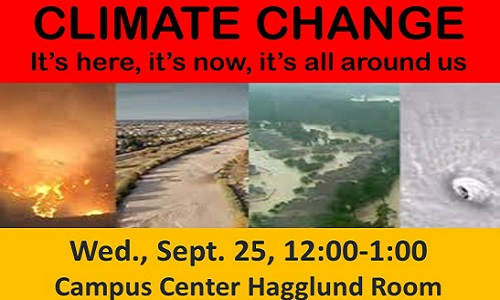 Climate Change Event Advertisement