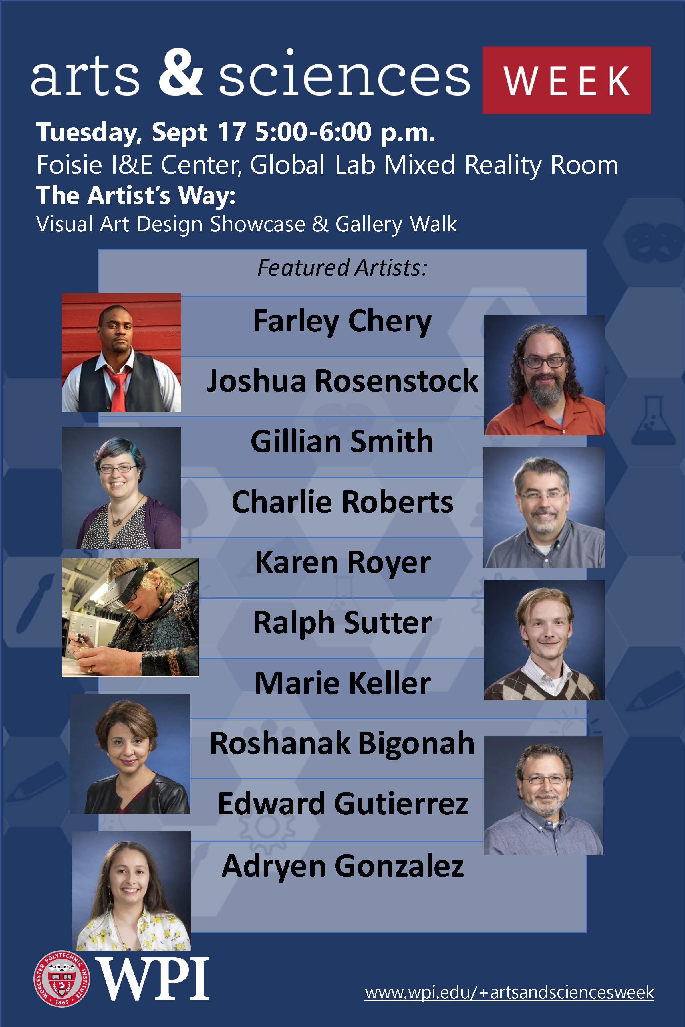 Visual Arts Design Showcase and Gallery Walk