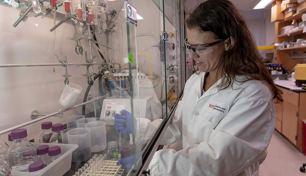 At WPI, students' work makes an immediate impact on some of the world's most pressing challenges.