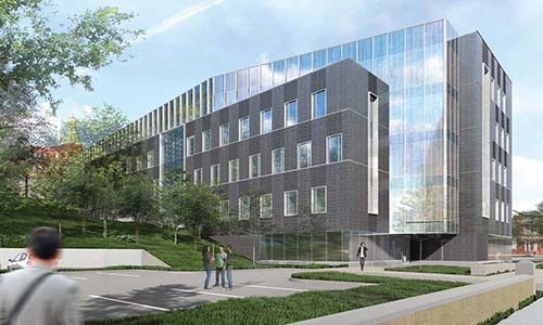 WPI new academic building