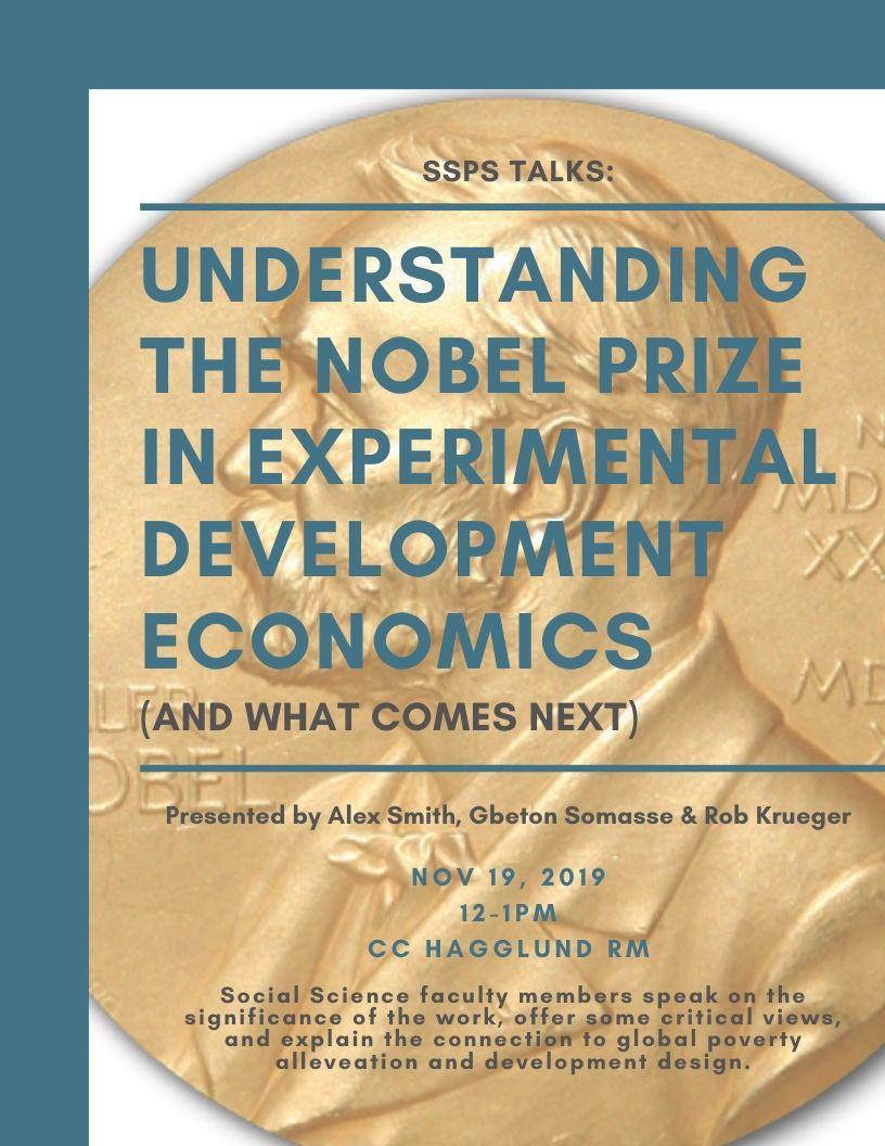 Nobel talk flyer