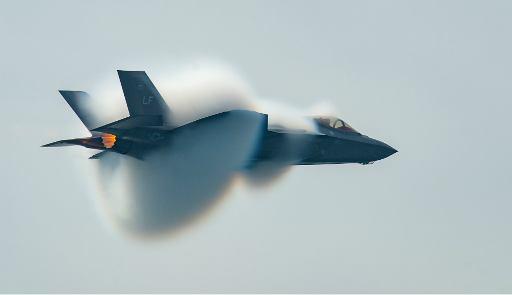 F-35 explosion
