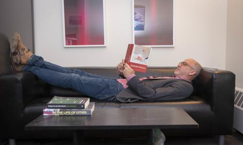 Rob Krueger catches up on his new book. alt