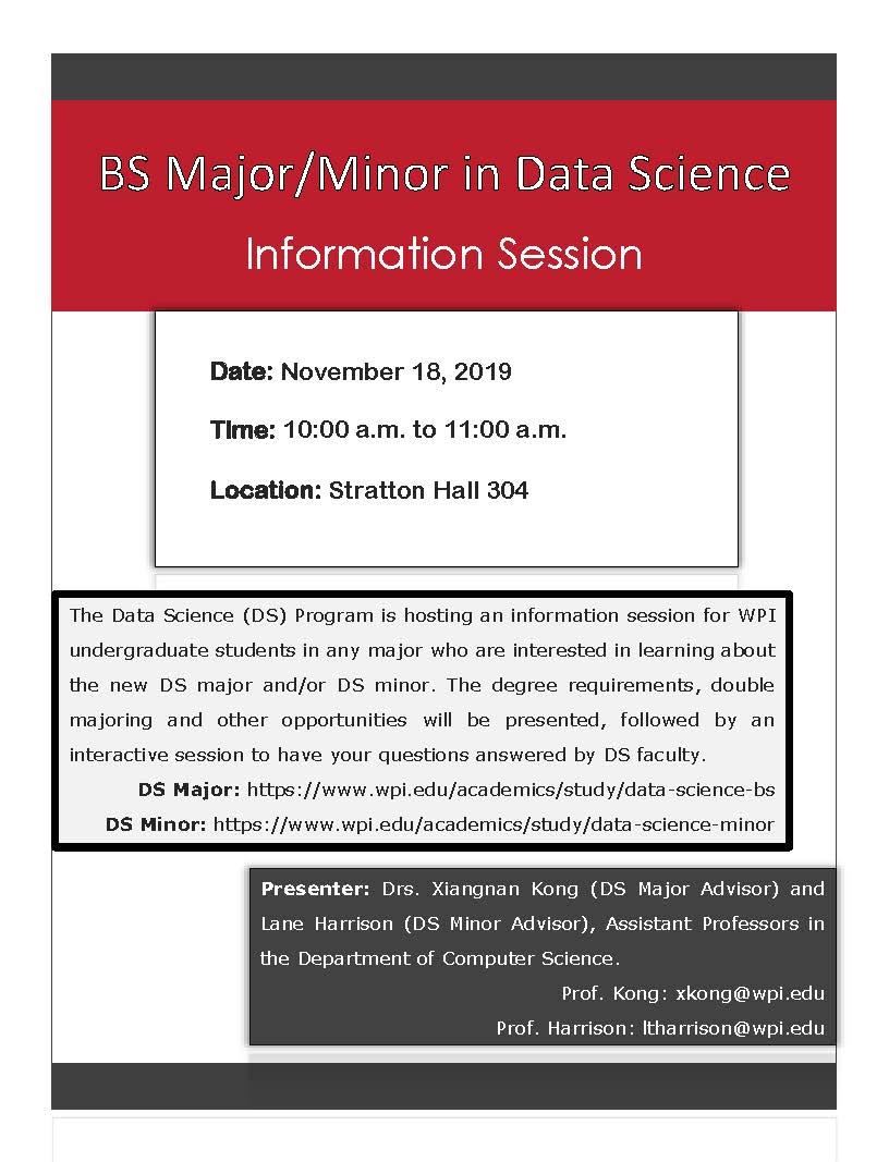 BS Major and Minor Fall 2019 - Nov 18 alt