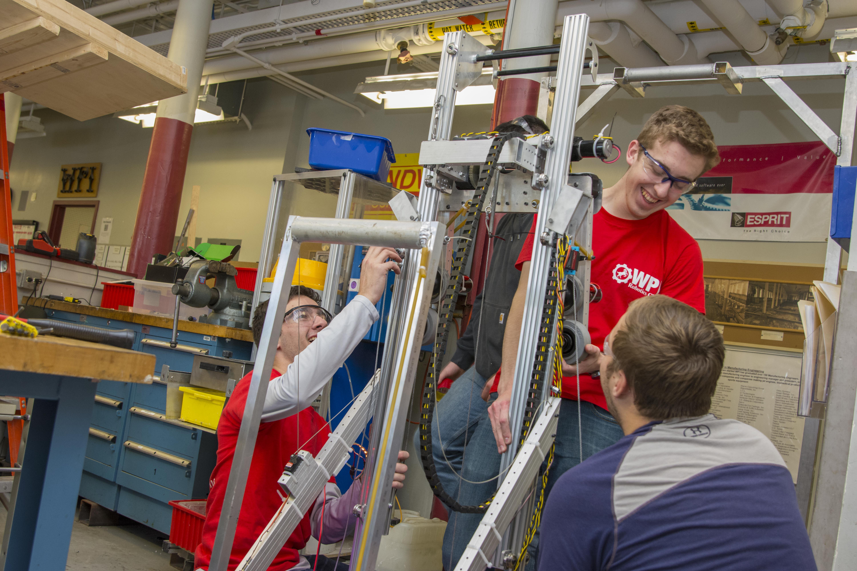 Robotics Students at WPI