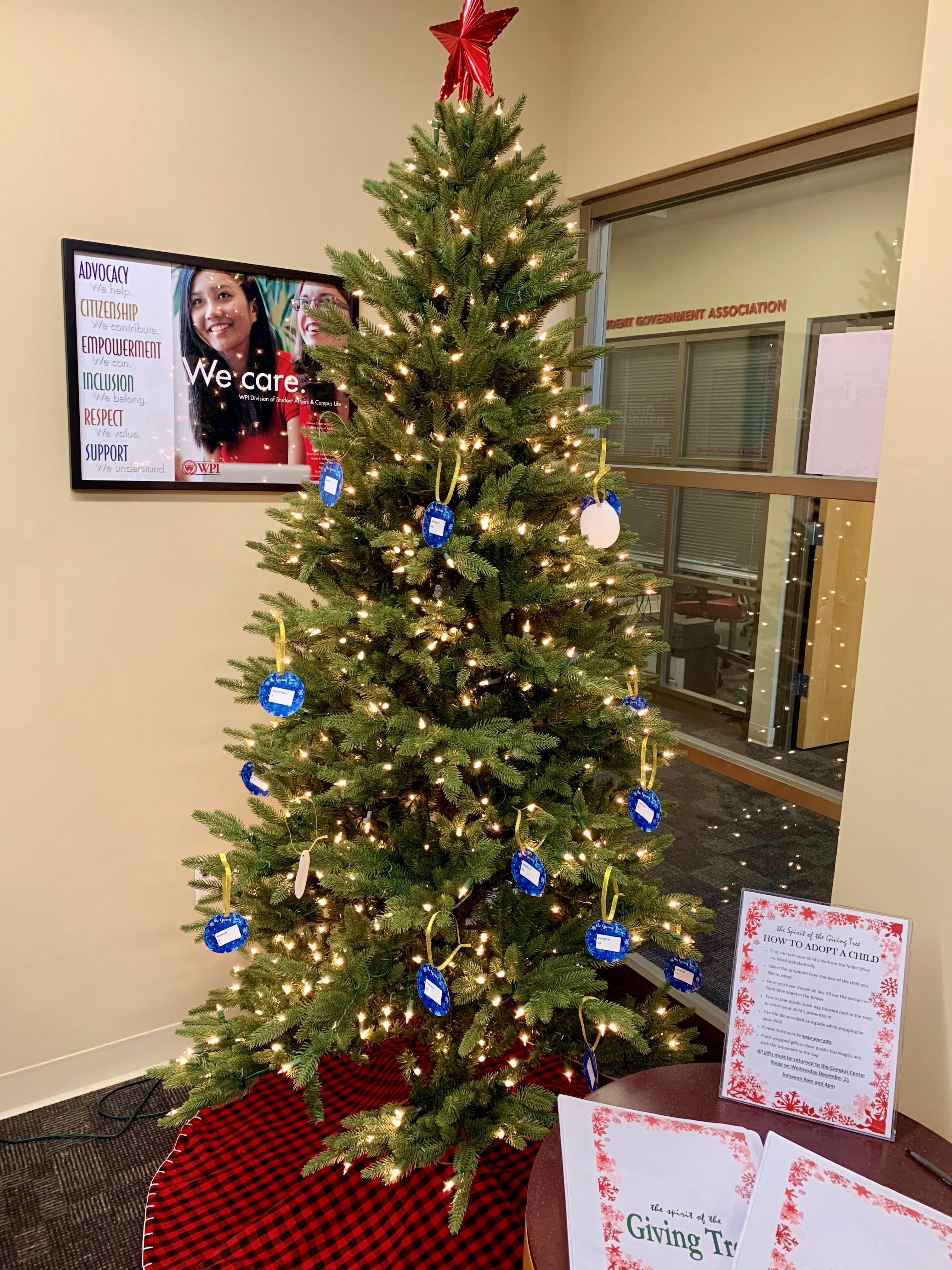 Student Activities Office Giving Tree Photo alt